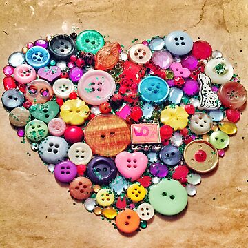 Button love by kathrynhack