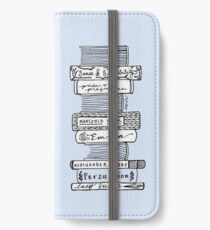 Collected Works of Jane Austen iPhone Wallet/Case/Skin