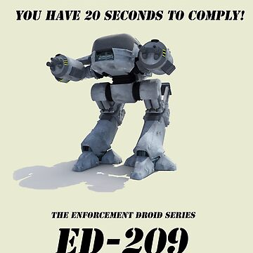 Ed 209 by strawberrymouse