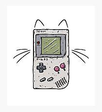 Game Cat Photographic Print