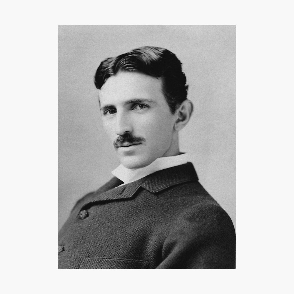 Nikola Tesla Fotodruck