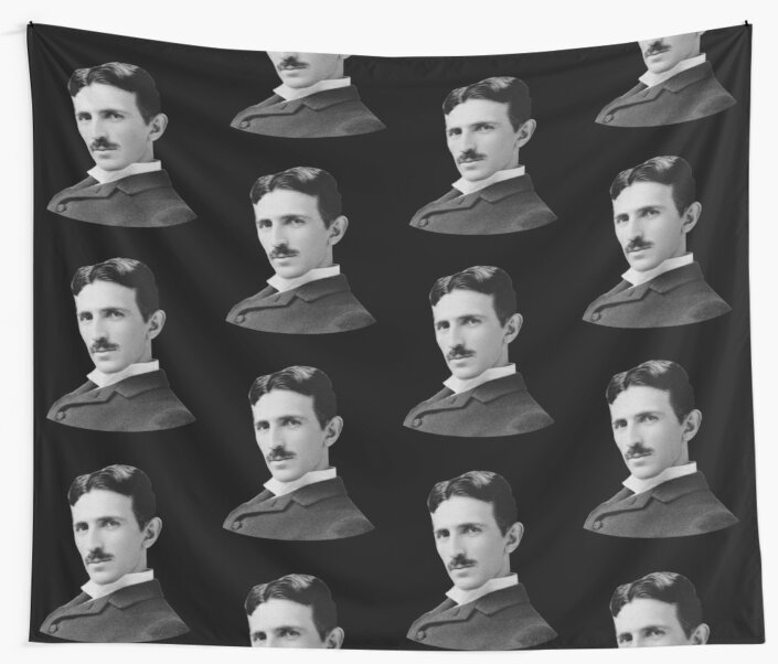 Nikola Tesla  by warishellstore