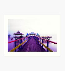 Kenjeran Beach on the Morning Art Print
