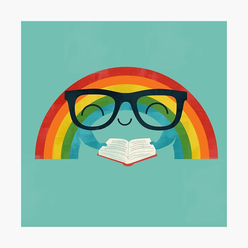 Reading Rainbow Photographic Print