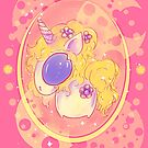 Princess Purple Flower Unicorn by FTMLand