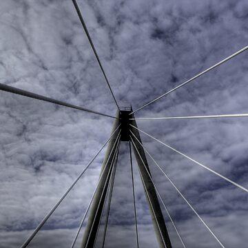 Marine Way Bridge, Southport by XsCode