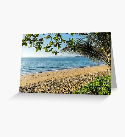 Palm Cove, Queensland< australia Greeting Card