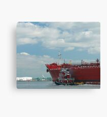 Home Port of Call  Canvas Print