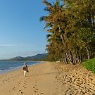 A Walk on the Beach at Palm Cove by Pauline Tims