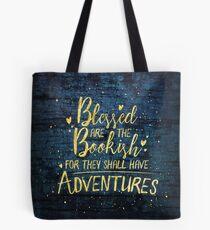 Gesegneter Bücherwurm Tasche