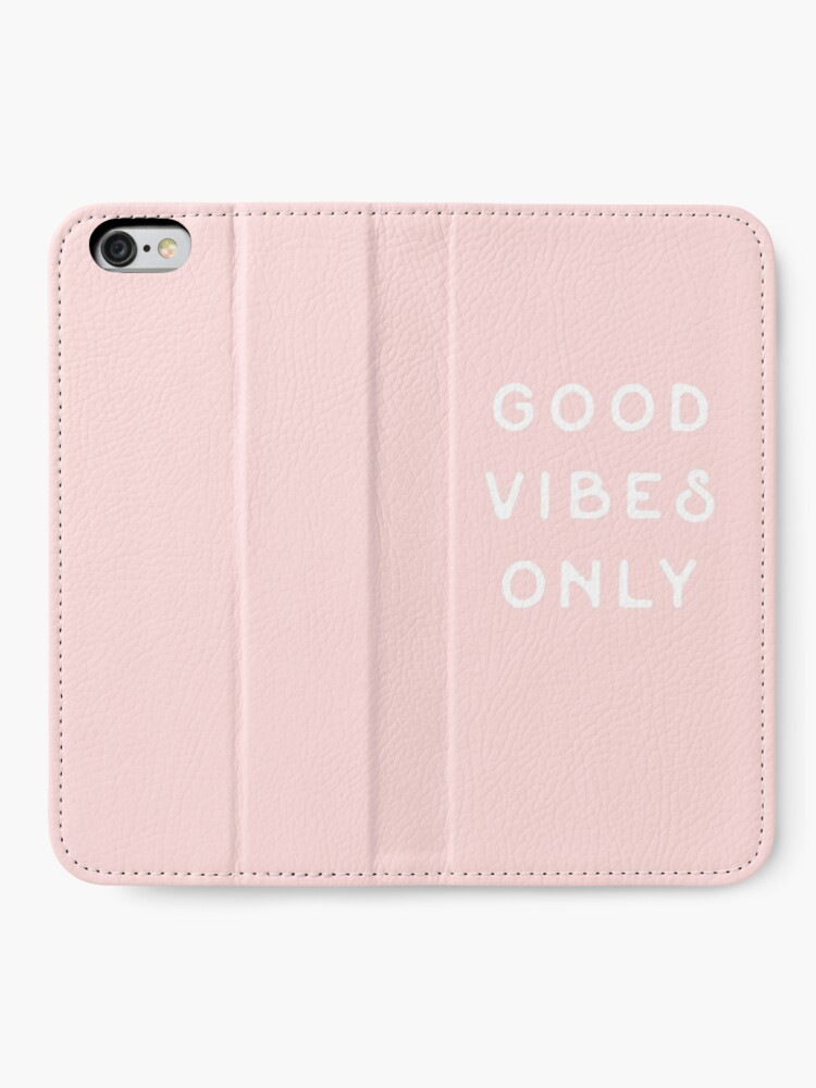 Alternate view of Good Vibes Only iPhone Wallet