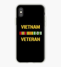 Vietnam Veteran Ribbon Bar iPhone Case