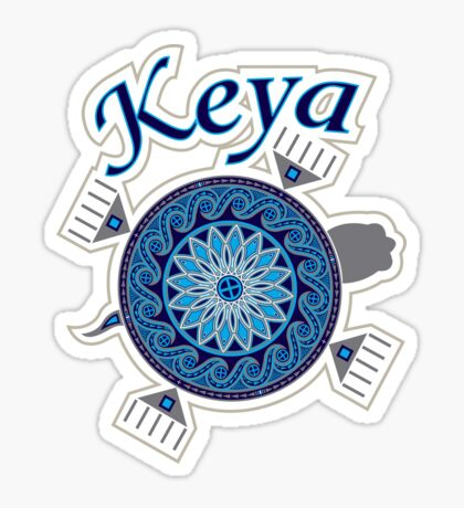 Turtle Keya Sticker