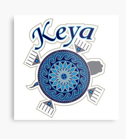 Turtle Keya Metal Print