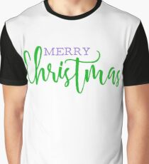 Merry Christmas. Customise Me. Graphic T-Shirt