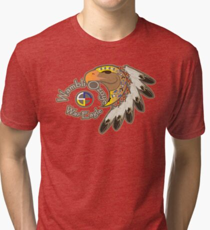 War Eagle (Wambli Ozuye) Tri-blend T-Shirt