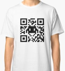 Space Invaders QR Code Classic T-Shirt