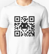 Space Invaders QR Code T-Shirt