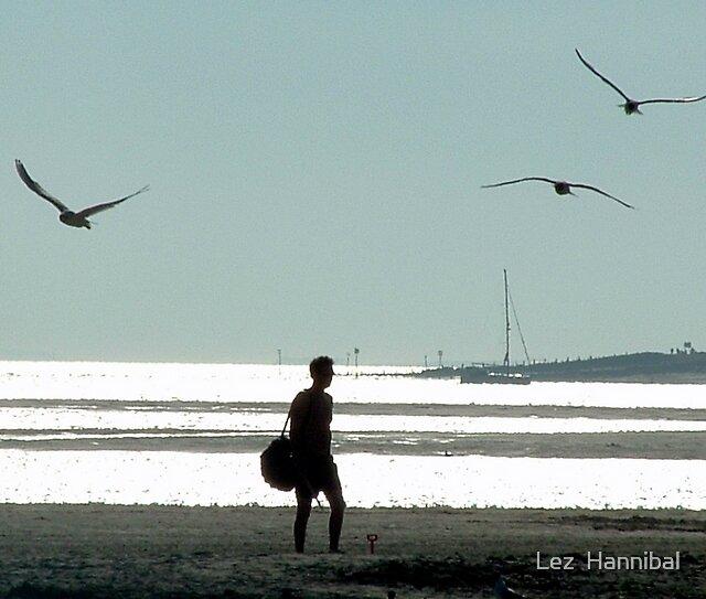 boy on beach by Lez  Hannibal