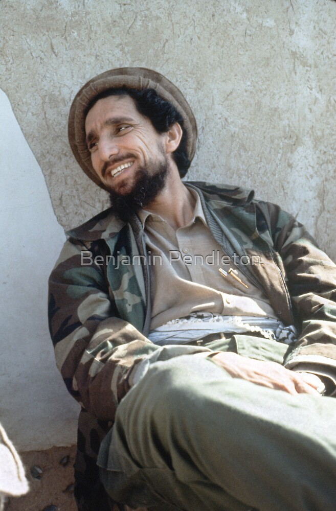 AHMAD SHAH MASSOUD by Benjamin Pendleton