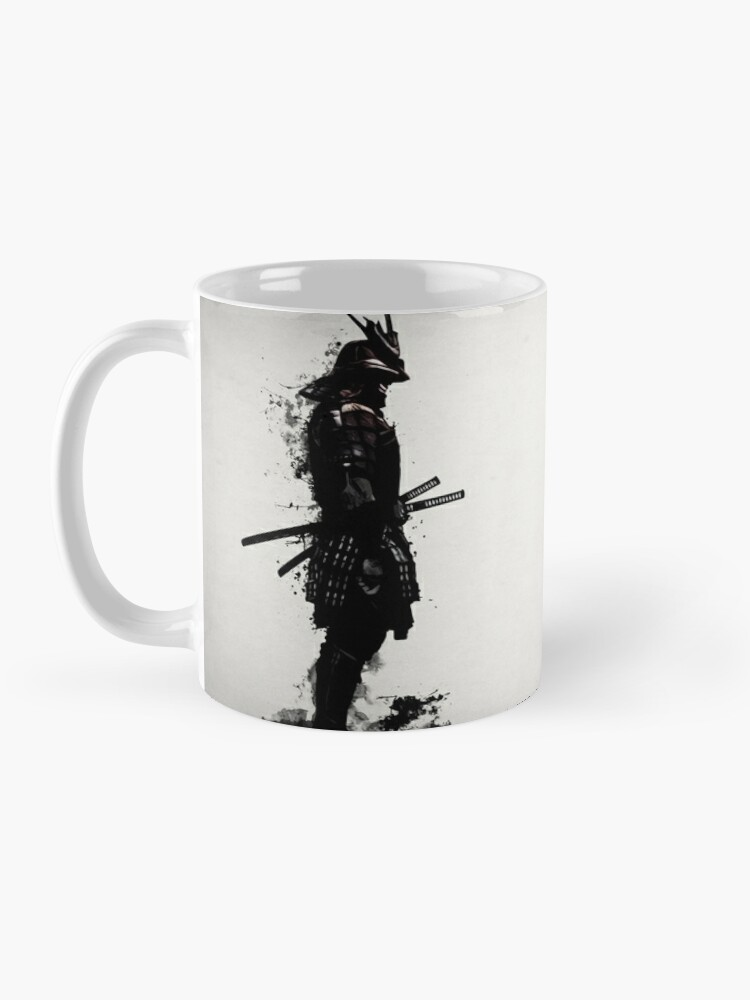 Alternate view of Armored Samurai Mug