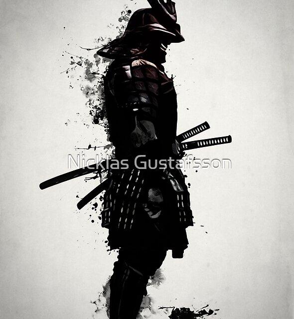 Gepanzerter Samurai von Nicklas Gustafsson