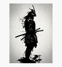 Armored Samurai Photographic Print