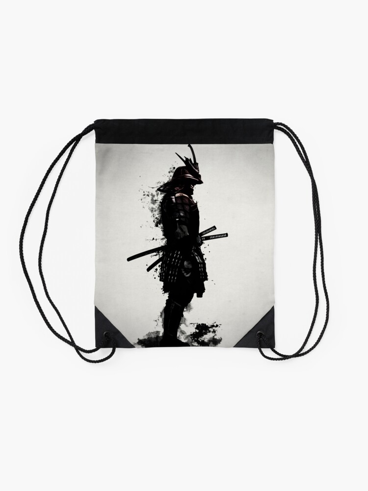 Alternate view of Armored Samurai Drawstring Bag
