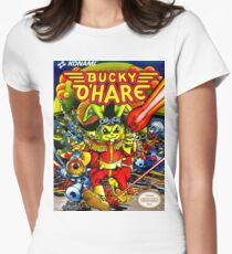 Bucky O'Hare Women's Fitted T-Shirt
