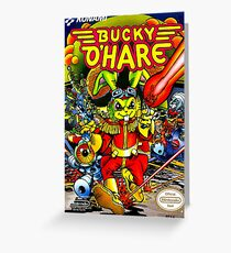 Bucky O'Hare Greeting Card