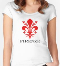 FIRENZE - FLORENCE - ITALY Women's Fitted Scoop T-Shirt