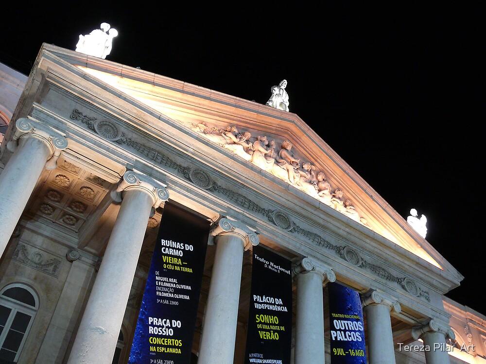 D.Maria Theatre.Rossio. LISBON by terezadelpilar ~ art & architecture
