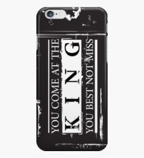 """You Come at the King, You Best Not Miss"" - The Wire (Dark) iPhone 6s Case"