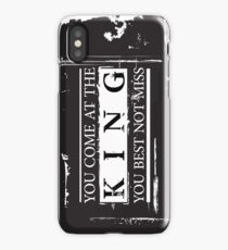 """You Come at the King, You Best Not Miss"" - The Wire (Dark) iPhone Case"