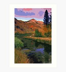 North Lake in Bishop Canyon, California Art Print