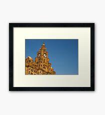 Royal Liver Building - Liverpool Framed Print