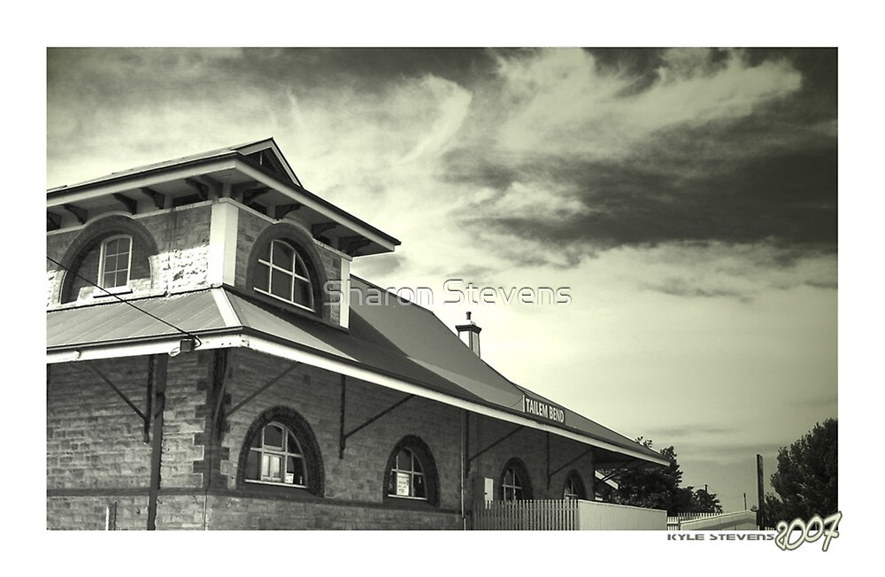 Tailem Bend Railway Station by Sharon Stevens