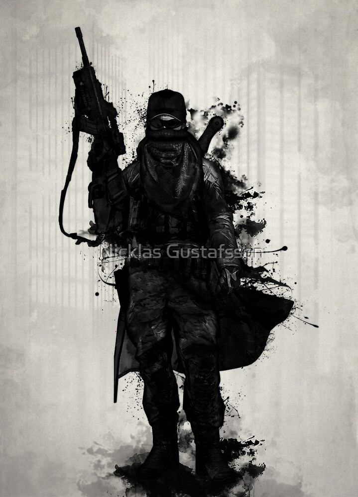 Post Apocalyptic Warrior by Nicklas Gustafsson