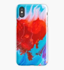 Flaming Heart iPhone Case