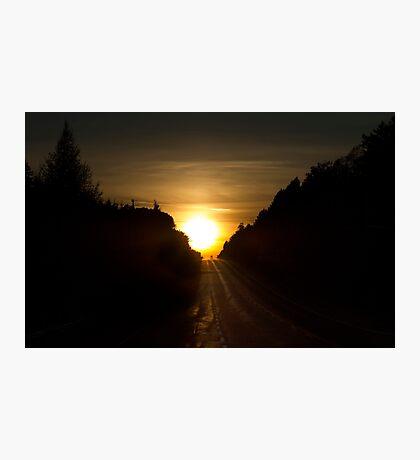 An Algonquin sunset Photographic Print