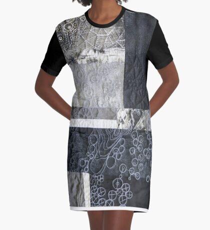Coastline in Detail Graphic T-Shirt Dress