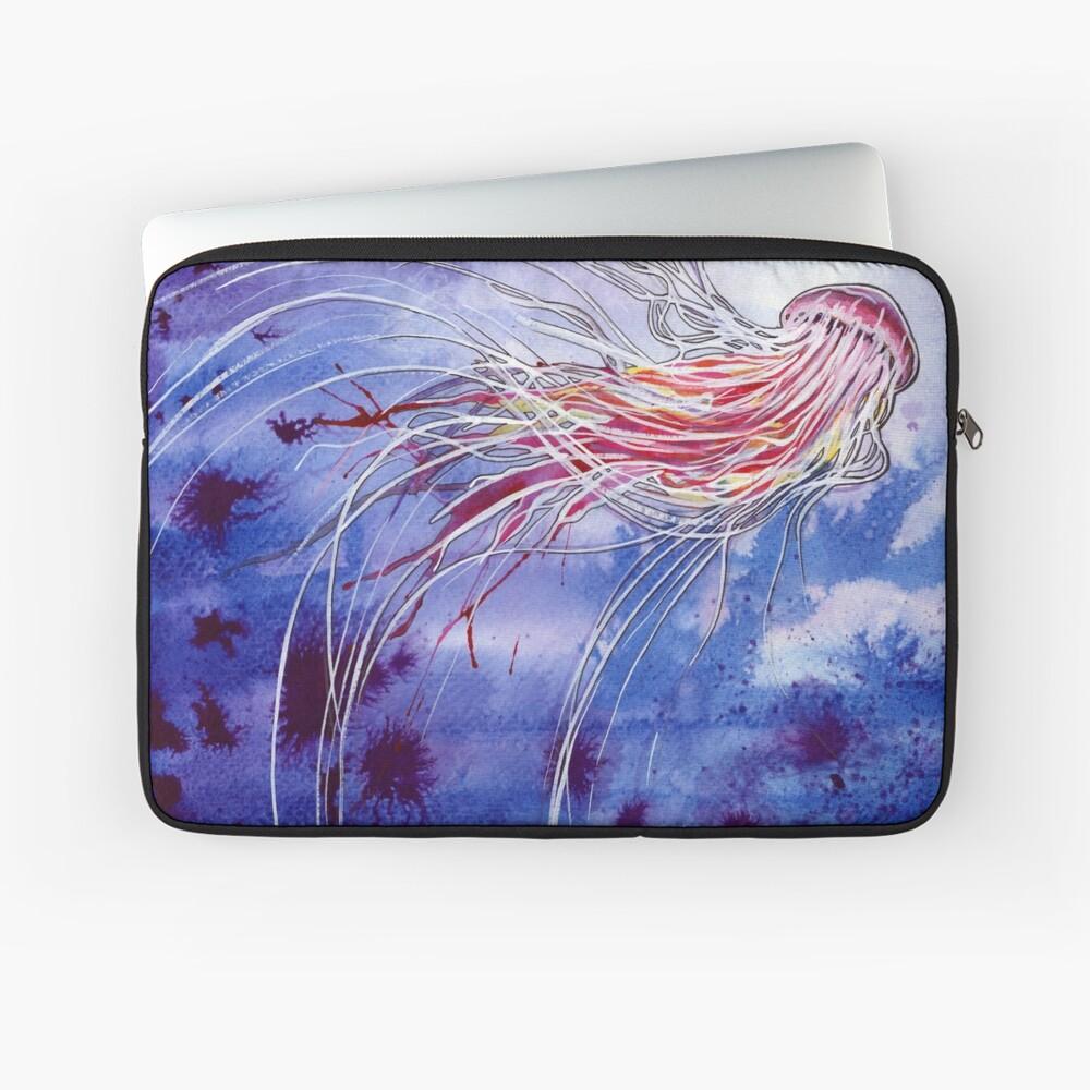 Medusa-Quallen Laptoptasche