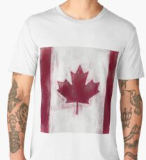 Maple Leaf Flag No. 1, Series 2 Men's Premium T-Shirt