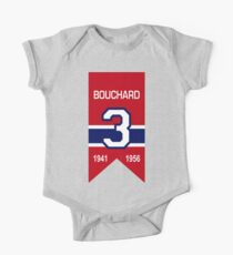 "Emile ""Butch"" Bouchard - retired jersey #3 One Piece - Short Sleeve"