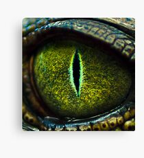 Eye of the Crocodile II [Print & iPad Case] Canvas Print