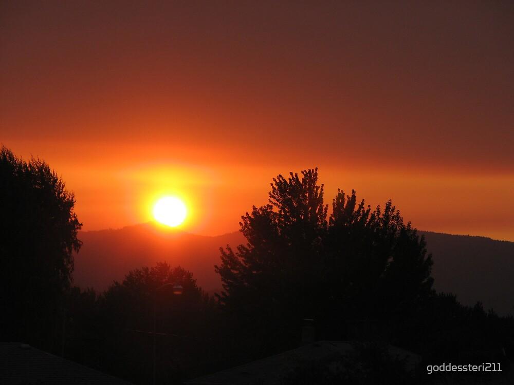 Sinking sun by goddessteri211