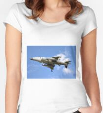 BAe Sea Harrier F/A.2  Women's Fitted Scoop T-Shirt