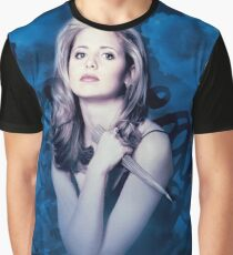 Buffy Grafik T-Shirt