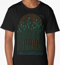 Tiger In The Grass Long T-Shirt
