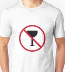 signal no alcohol Unisex T-Shirt